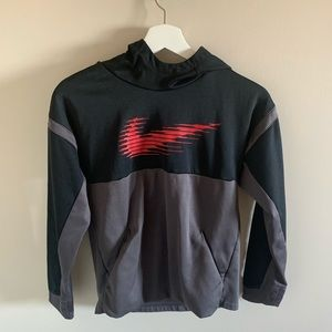Nike Boys Therma Graphic Hoodie Kids Size Large